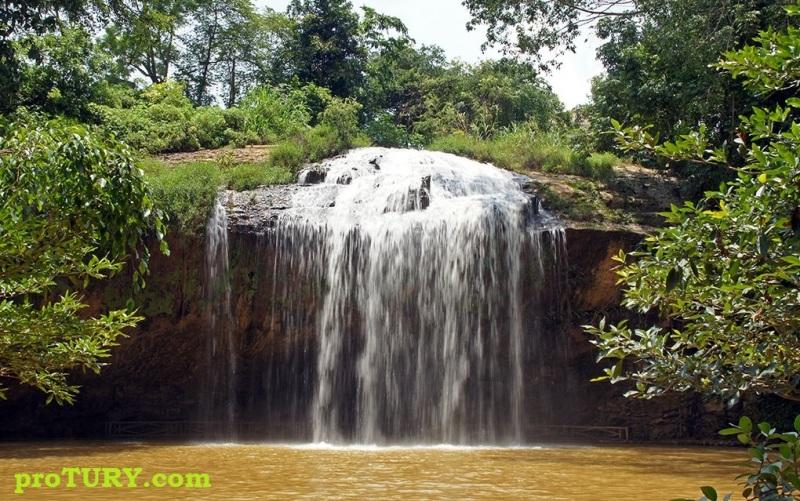 водопад Пренн (Далат - Вьетнам)