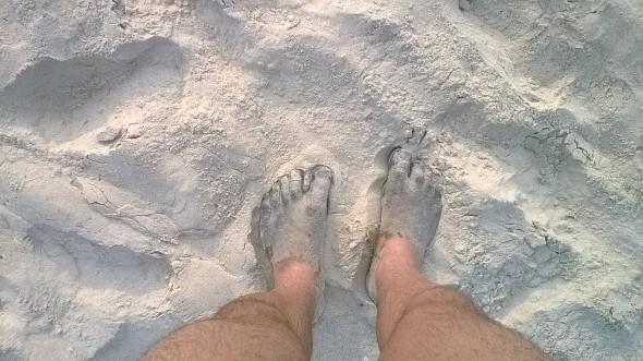 Черный песок в ГОА