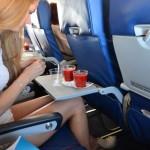 Томатный сок в самолете вкуснее